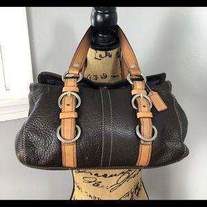 COACH CHELSEA PEBBLED BAG